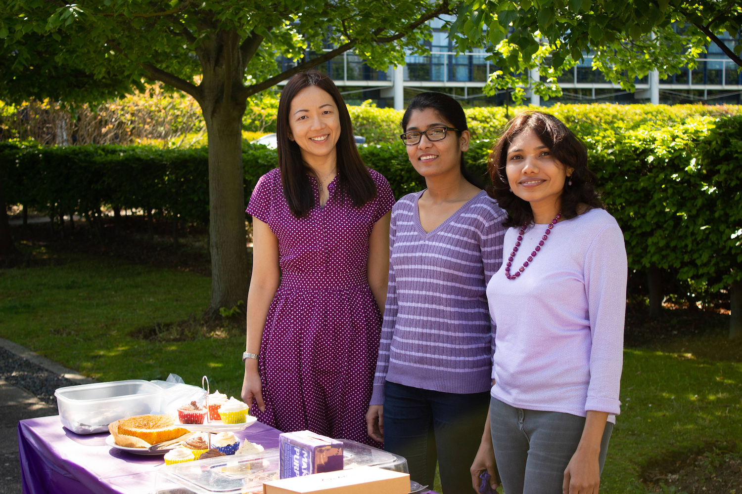 action on stroke month - make may purple